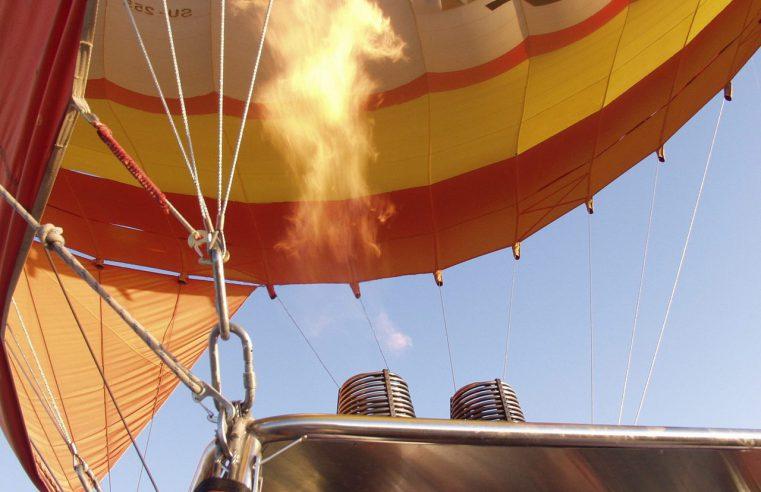 Kosz w balonach